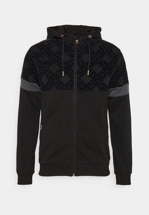 ARMAZ ZIP HOODIE - veste en sweat zippée - jet black