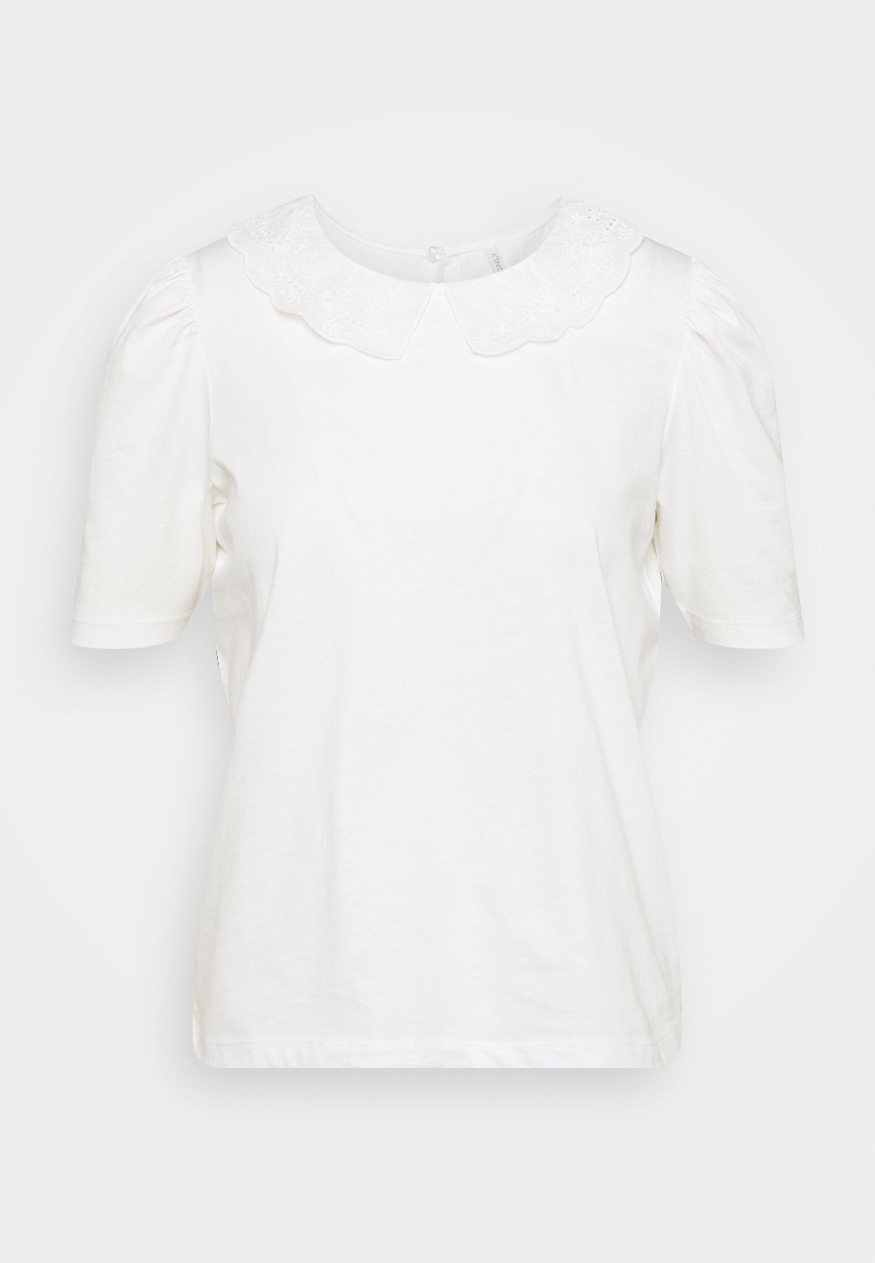 Women ONLNILLE COLLAR - Print T-shirt