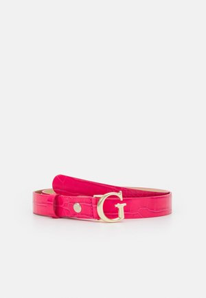 CORILY ADJUSTABLE PANT BELT - Belt - pink