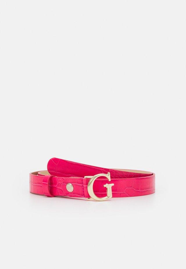 CORILY ADJUSTABLE PANT BELT - Belt - pink
