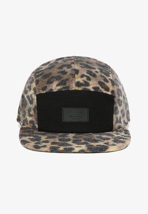 Cap - leopard print