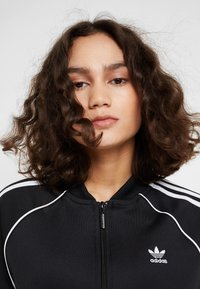 adidas Originals - ADICOLOR 3 STRIPES BOMBER TRACK JACKET - Training jacket - black - 5