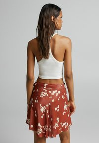 Bershka - Áčková sukně - brown - 2