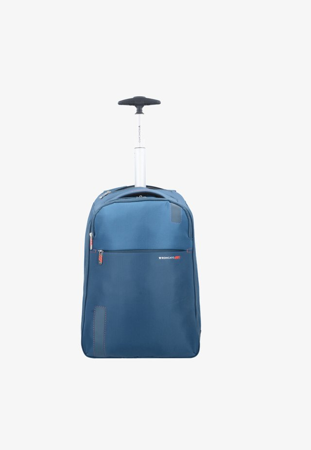 Wheeled suitcase - blu