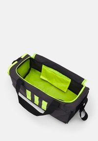 adidas Performance - 3S DUFFLE S - Sports bag - dgh solid grey/black/solar yellow - 2