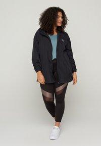 Active by Zizzi - Training jacket - black - 0