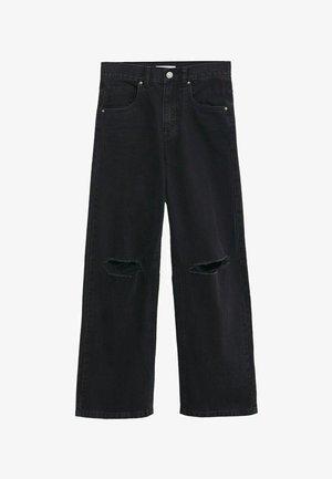 Jean droit - black denim