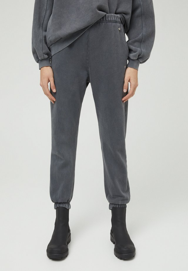 Spodnie treningowe - mottled dark grey