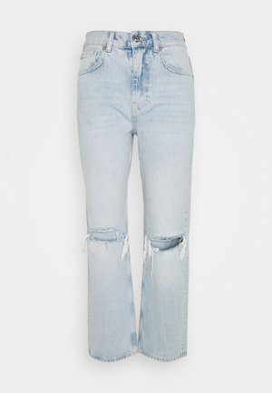 90S HIGHWAIST - Jeans relaxed fit - light blue destroy