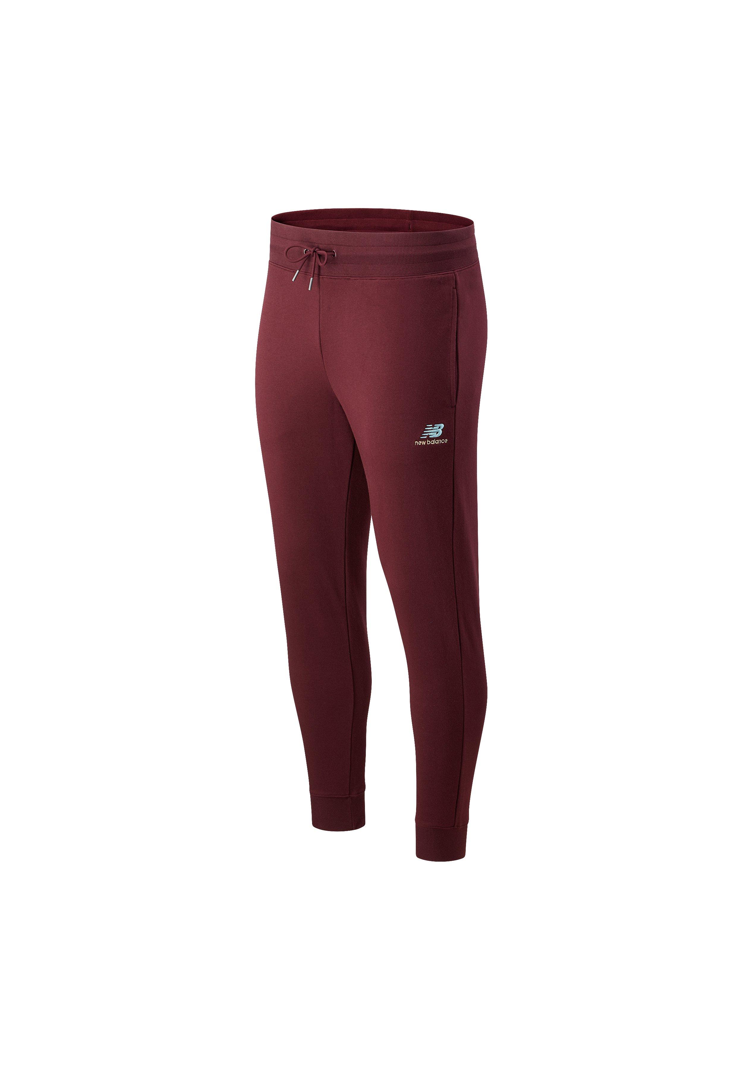 Uomo NB ESSENTIALS EMBROIDERED PANT - Pantaloni sportivi