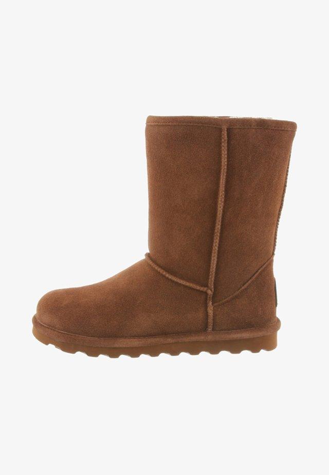 ELLE  - Winter boots - cognac