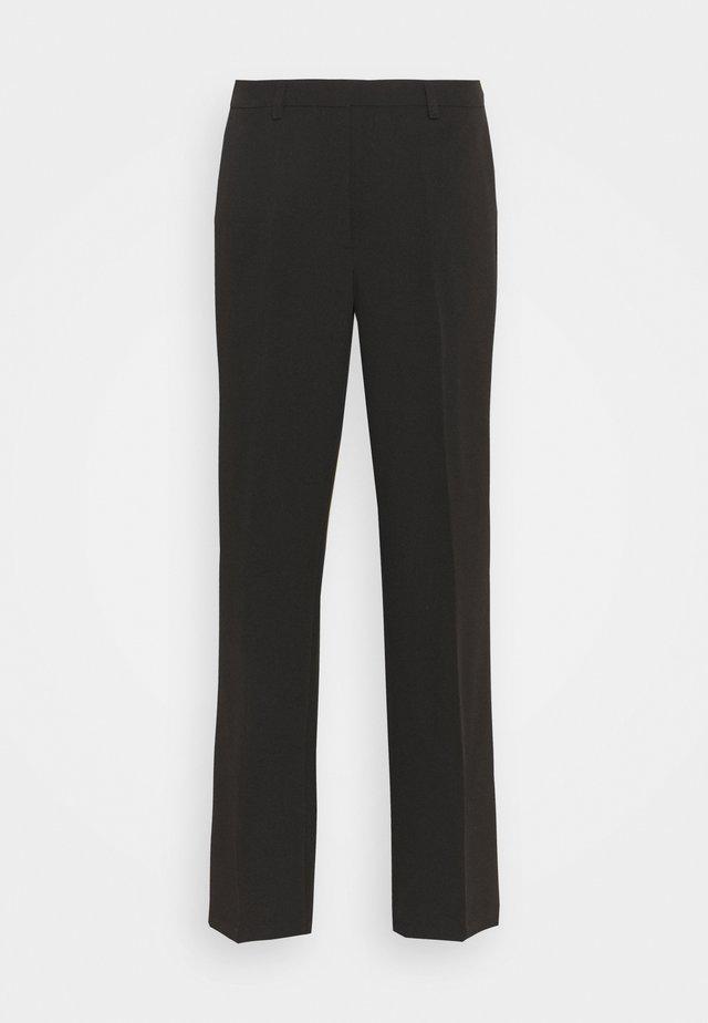 SLFDILARA FLARED PANT - Bukser - black