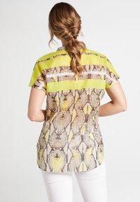Eterna - Button-down blouse - neongelb - 2