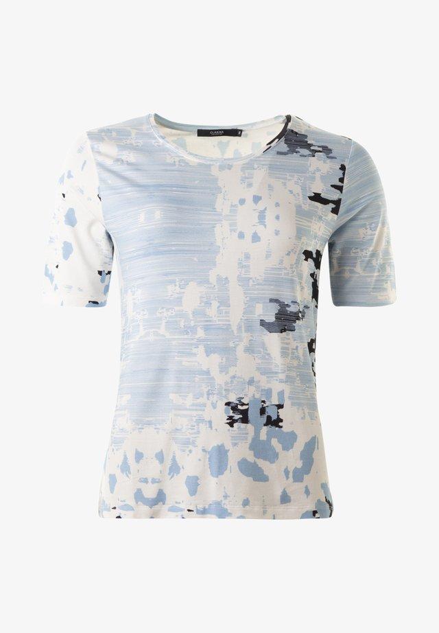 CORDULA - TOPP  - Print T-shirt - denimmarine
