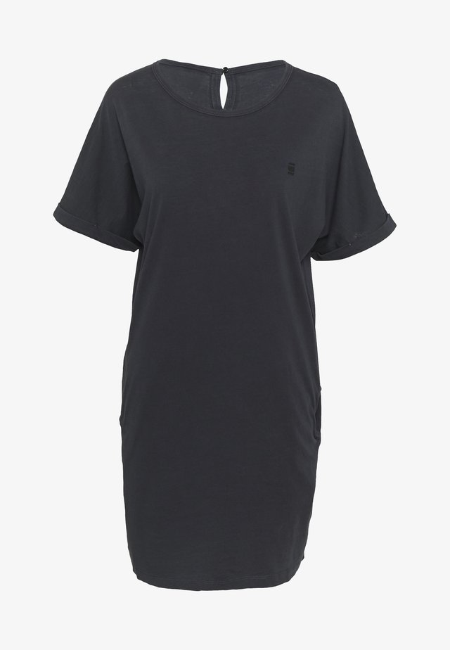 JOOSA  - Jersey dress - black