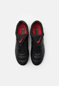 Nike Performance - PREMIER - Kopačky lisovky - black/dark smoke grey/chile red - 3