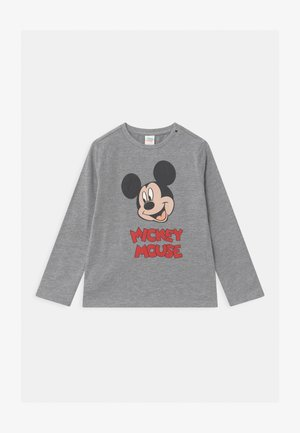 MICKEY - Long sleeved top - light grey melange