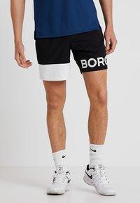 Björn Borg - ARCHER SHORTS - Träningsshorts - black beauty - 0