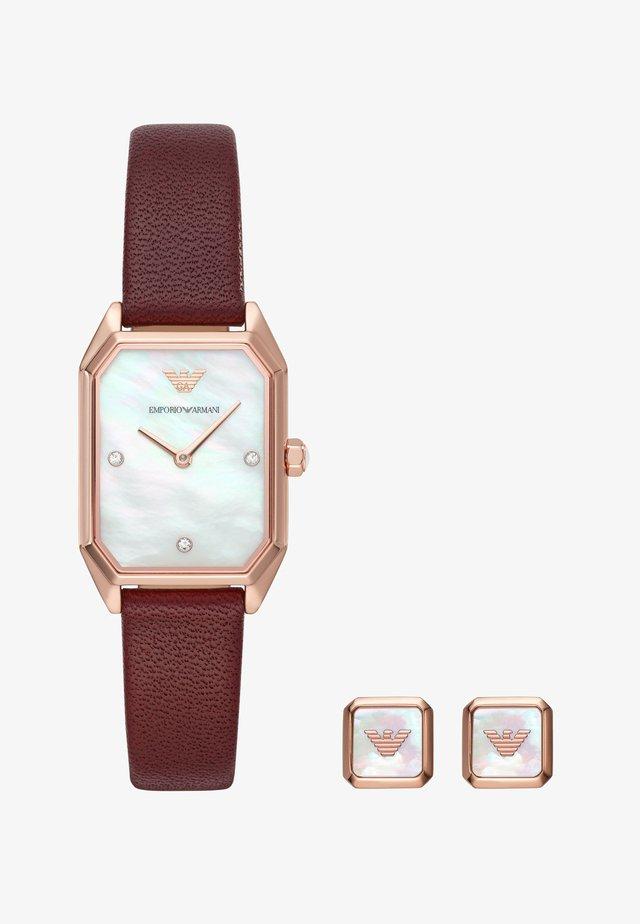 SET - Horloge - purple