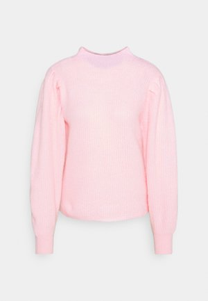 SLFLIPA T NECK  - Strickpullover - blushing bride