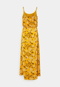 ONLY - ONLNOVA LUX STRAP MAXI DRESS - Maxi dress - golden yellow/white - 1