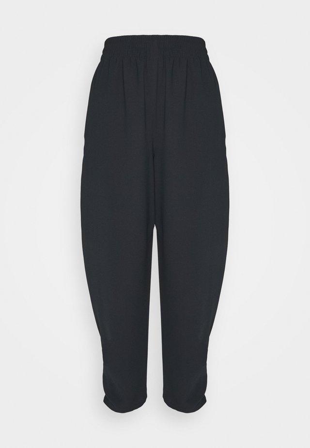 Spodnie materiałowe - asphalt black
