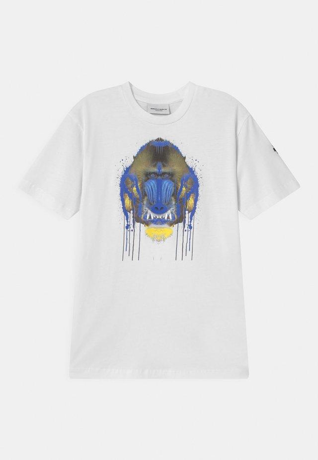 GORILLA - Print T-shirt - white