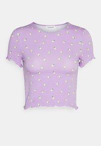 Even&Odd - Print T-shirt - lilac - 3