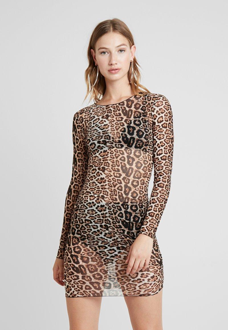 Tiger Mist - AARYA DRESS - Shift dress - brown