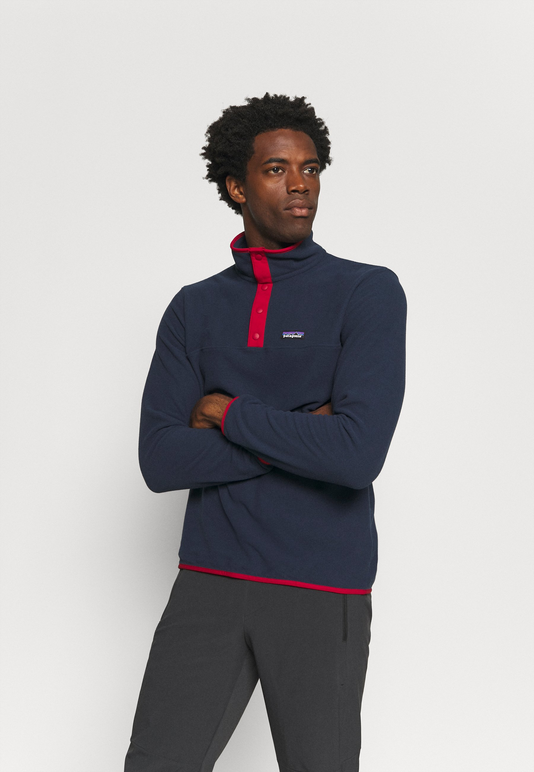 Homme MICRO SNAP - Sweat polaire