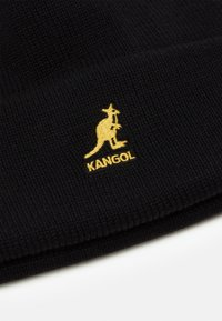 Kangol - CUFF PULL ON UNISEX - Beanie - black/ gold - 2