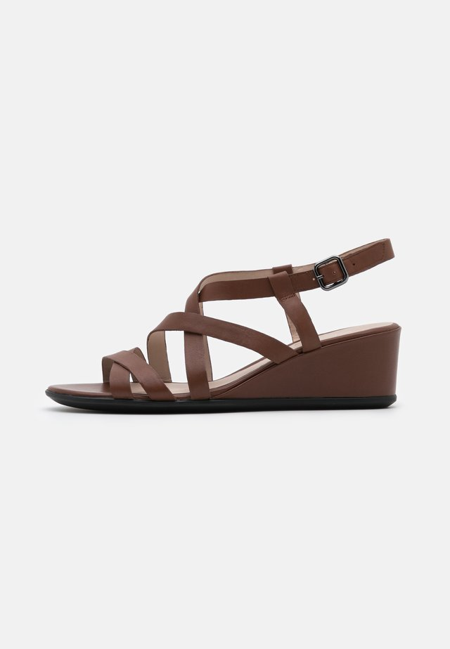 SHAPE - Wedge sandals - cinnamon celeste