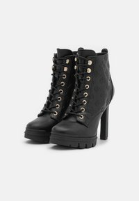Guess - JACLIN - Lace-up ankle boots - black - 2