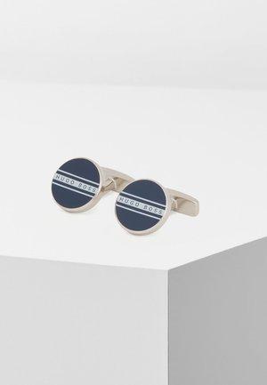 FREDDIE - Cufflinks - dark blue