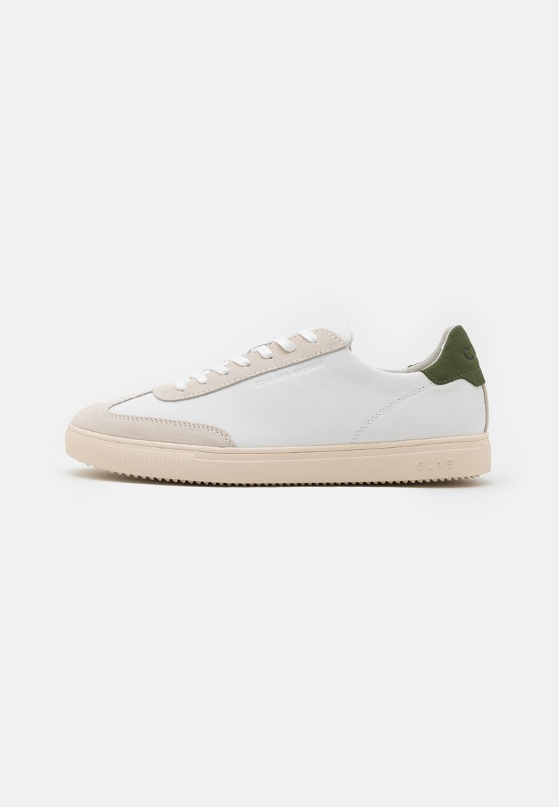 Clae - DEANE - Matalavartiset tennarit - white/smoke/bronze green
