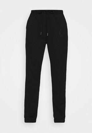 NMLUPA LOGO PANTS - Pantalones deportivos - black