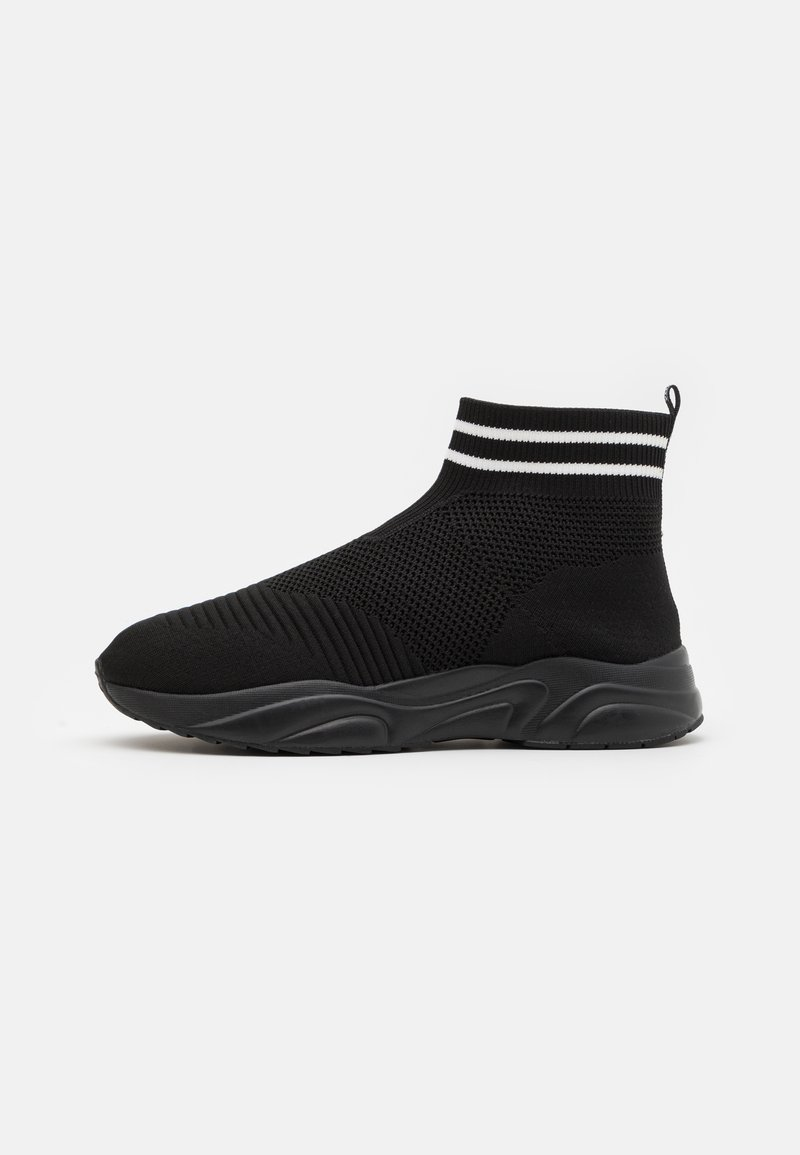 YOURTURN - UNISEX - Höga sneakers - black