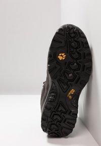 Jack Wolfskin - VOJO HIKE 2 TEXAPORE MID - Hiking shoes - dark steel/black - 4
