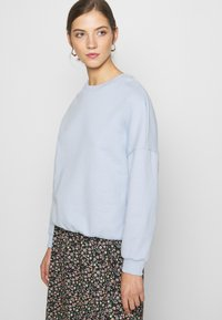 Even&Odd - Oversized Sweatshirt - Sweatshirt - blue - 3