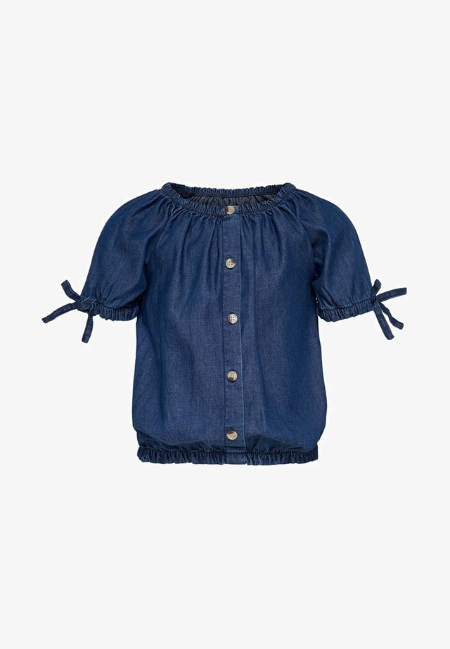 Top - medium blue denim