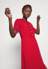 LK Bennett - MALAMI - Day dress - geranium/macadamia - 3