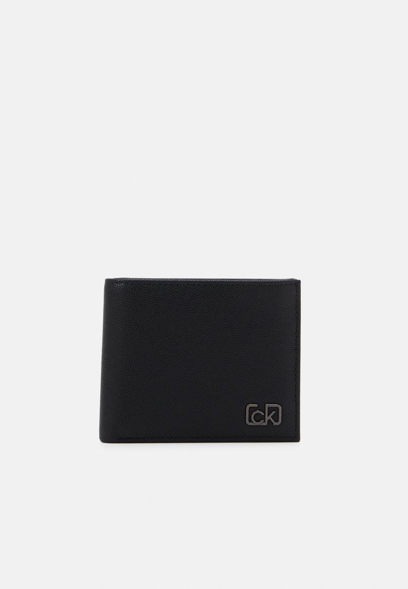 Calvin Klein - BIFOLD COIN - Portemonnee - black