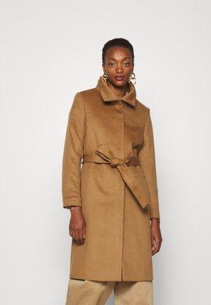 CORIN - Classic coat - dark honey