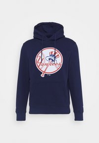Fanatics - MLB NEW YORK YANKEES ICONIC PRIMARY COLOUR LOGO GRAPHIC HOODIE - Club wear - navy - 4