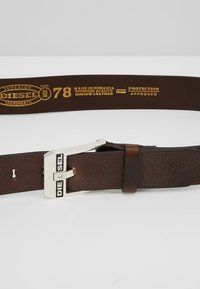 Diesel - BLUESTAR BELT - Cinturón - brown - 4