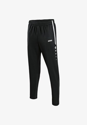 ACTIVE - Tracksuit bottoms - black