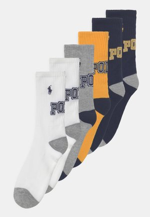 LOGO CREW 6 PACK - Socks - dark blue