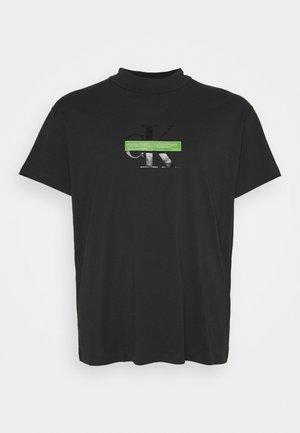 CENSORED TEE - T-shirt med print - black