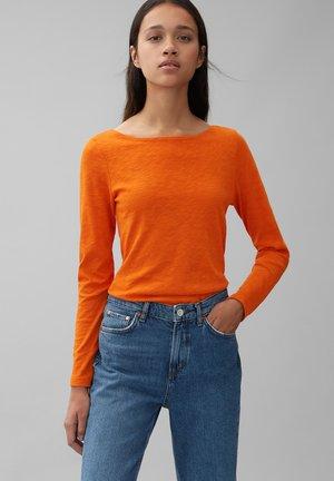 LONG SLEEVE - Long sleeved top - pumpkin orange