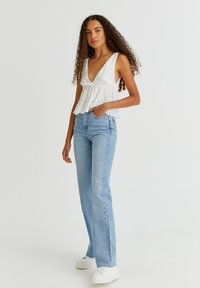 PULL&BEAR - Top - off white - 1